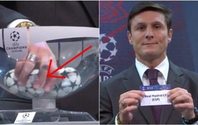 Дзанетти заподозрили в махинациях при жеребьевке Лиги чемпионов