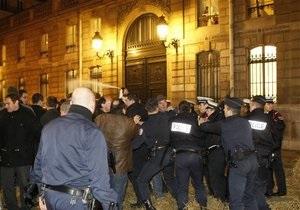В Париже разогнали демонстрацию фермеров, заблокировавших Елисейский дворец