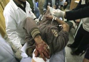 ВВС Израиля нанесли удар по сектору Газа, ранив четверых мирных жителей