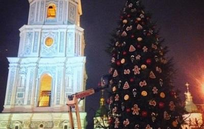 Крещатик оставят открытым для транспорта на новогодние праздники