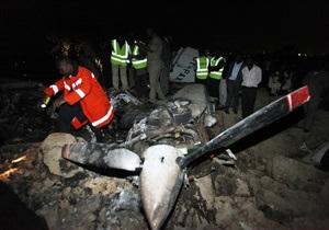 В крушении вертолета в Кении погибли два министра