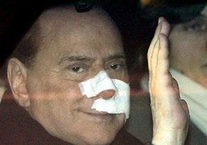 Берлускони простил напавшего на него душевнобольного миланца