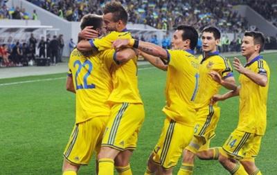 Сборная Украины сыграет с Кипром и Уэльсом