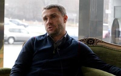 Ребров: На тему усиления говорим с президентом практически ежедневно