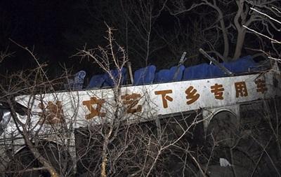 В Таиланде в ущелье упал автобус с китайскими туристами