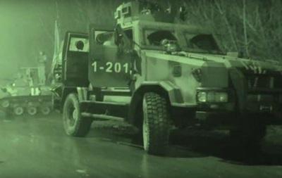 Опубликовано видео спецоперации СБУ в Авдеевке