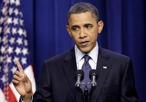 Обама заявил, что мир обязан предотвратить повторение балканского сценария в Ливии
