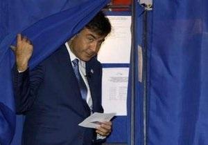 Экзит-полл: На выборах в Грузии лидируют кандидаты от партии Саакашвили