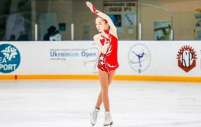 Чемпионкой Украины стала 14-летняя фигуристка