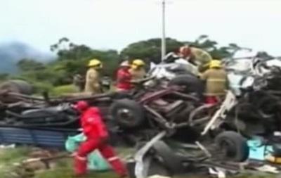 ДТП в Боливии унесло жизни 15 человек