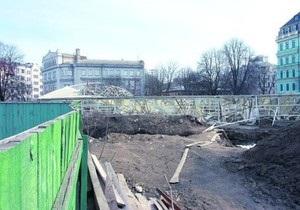 Археологи заявляют об угрозе разрушения фундамента Десятинной церкви в Киеве