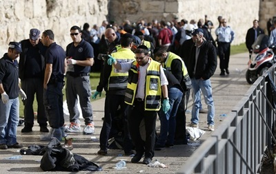 В Иерусалиме застрелен палестинец с ножом