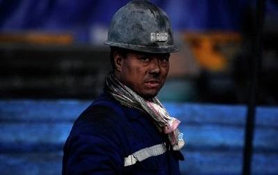 Авария в Китае: под землей застряли десятки шахтеров