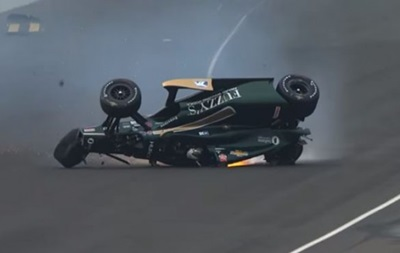 ТОП-10 жутких аварий в автоспорте за 2015 год
