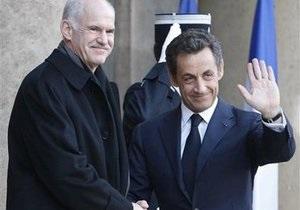 Лидеры ЕС решили не оставлять Грецию в изоляции - Саркози