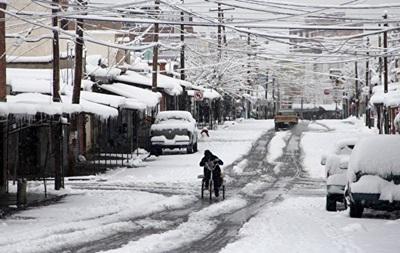 Морозы в Мексике убили шестерых человек