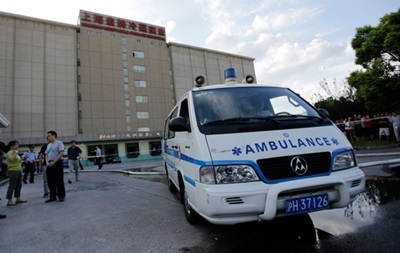 В Китае на трассе столкнулись 11 автомобилей