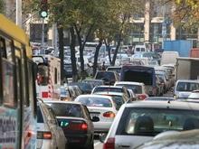 Власти посчитали количество автомобилей в Киеве