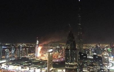 Пожар в отеле в Дубае: 16 пострадавших