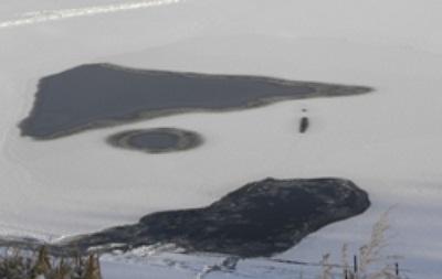 В Харькове и Чернигове под лед провалились пять человек