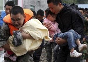 От оползней в Китае погибли более 1200 человек