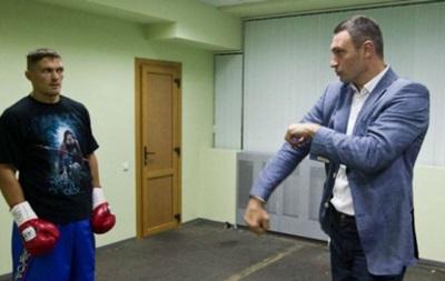 Віталій Кличко: Упевнений, що цьогоріч Усик стане чемпіоном світу