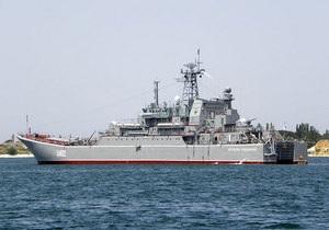 Корабль Константин Ольшанский взял курс на Севастополь