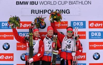 Биатлон: Норвежский триумф на четвертом этапе Кубка мира