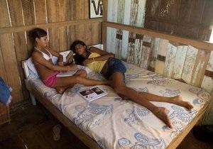 В Бразилии живет девочка ростом более двух метров