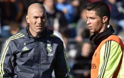 Зидан: Роналду не покинет Реал, он сердце и душа этой команды