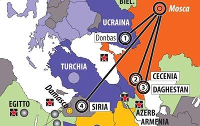 В Италии на карте обозначили Крым частью РФ