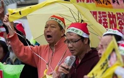 В Гонконге протестуют из-за исчезновения книготорговцев