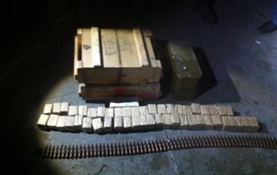 На Донбассе нашли тайник с оружием и боеприпасами