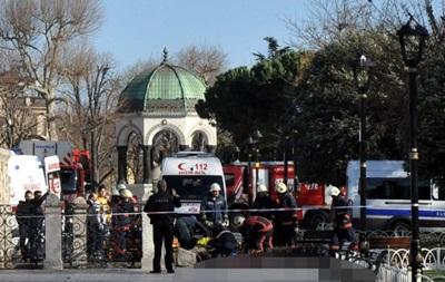 Взрыв в Стамбуле 12 декабря