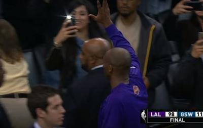Легенда американского баскетбола сорвал овации болельщиков Голден Стэйт