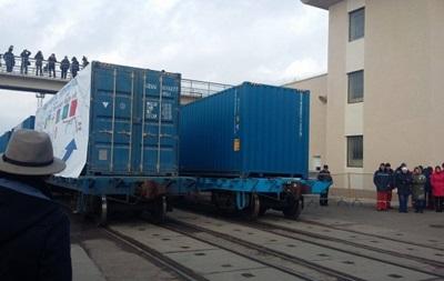 Украина запустила поезд по новому Шелковому пути