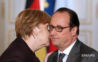АП: Посланники от Меркель и Олланда едут в Киев