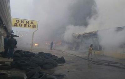 ГСЧС сообщила о пострадавших при пожаре в Одессе