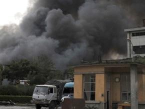 В Китае взорвался грузовик с химикатами: 18 человек погибли