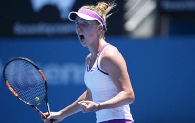 Свитолина уверенно стартовала на Australian Open