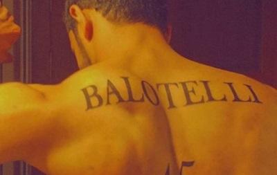 Балотелли был шокирован татуировкой поклонника