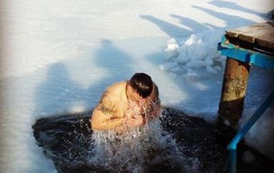 Крещение 2016: Украинские спортсмены искупались в праздник