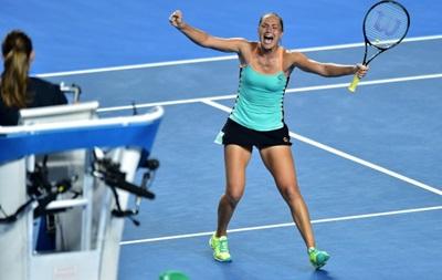Australian Open: Бондаренко обігрує росіянку і крокує в наступний етап