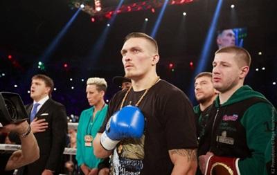 Усик впервые включен в рейтинг WBA