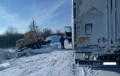 В Николаевской области для грузовиков открыли две дороги