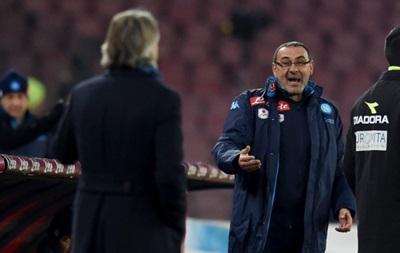 Тренер Наполи дисквалифицирован за гомофобские высказывания в адрес Манчини