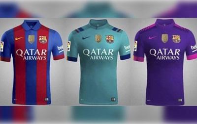 У мережі з явилося зображення нової форми Барселони на наступний сезон