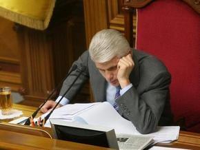 Литвин: На этой неделе Рада должна рассмотреть 95 вопросов