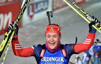 Биатлон: Юрлова выиграла гонку преследования, лучшая из украинок - девятая