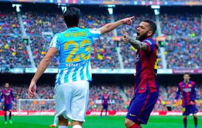 Малага - Барселона 1:2 Онлайн трансляция матча чемпионата Испании